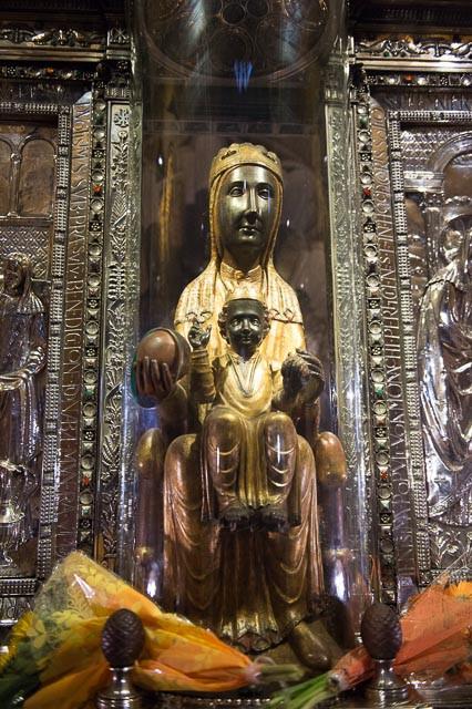 La Moreneta or Black Madonna
