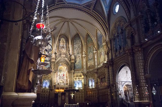Votive Holders in the Basilica de Montserrat