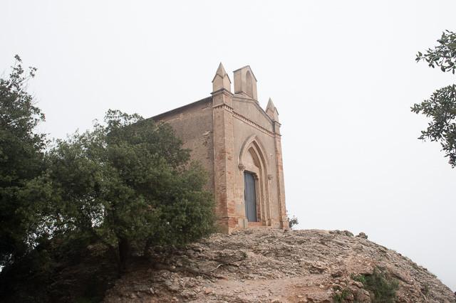 Small Chapel at the top of Funicular de Sant Joan