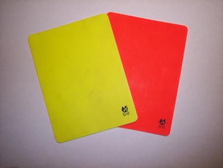 Желтые и красные карточки