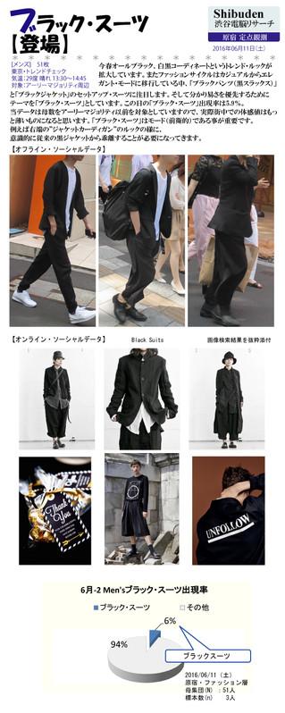 ブラック・スーツ【登場】