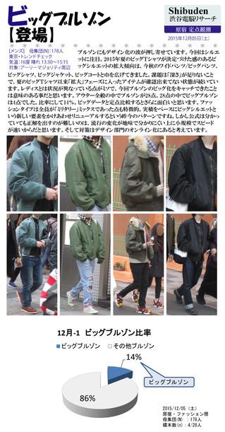 ビッグブルゾン【登場】2015/12/10