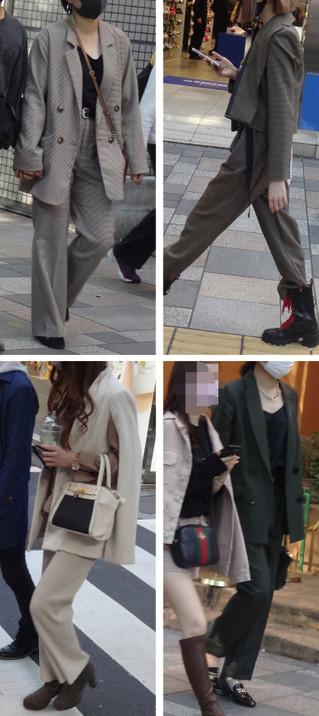 男らしい?女性のファッションスーツ【登場】