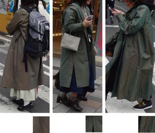 玉虫色のコート【登場】