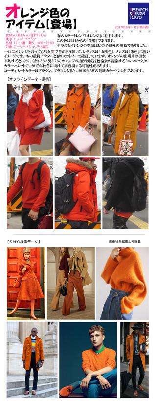 オレンジ色のアイテム【登場】