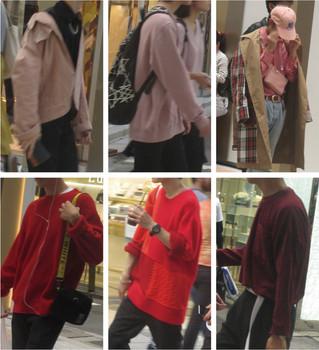 秋カラーは、赤~ピンク【拡大】
