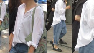 #白シャツ【拡大】