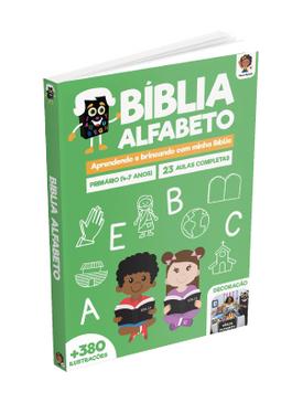 Plano de Aula - Bíblia Alfabeto
