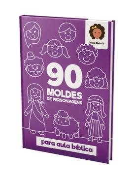 90 moldes de personagens para aula bíblica