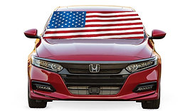 AMERICAN FLAG - WINDSHIELD BANNER