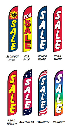 Sale Wind-Free Feather Flags