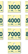 RL-78 SERVICE DISPATCH NUMBERS - GREEN