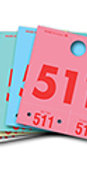 COLORED DISPATCH NUMBERS