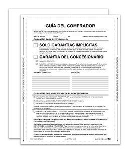 INTERIOR BUYERS GUIDE - IMPLIED WARRANTY - SPANISH