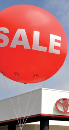 Giant 8' Round Sale Balloons - SALE
