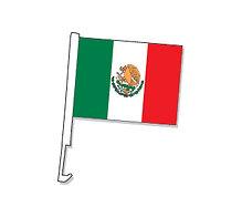 Clip en la ventana de la ventana del coche de México
