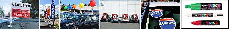 automotive dealer supplies, sales aids, dealership sales
