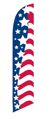 REPLACEMENT SWOOPER FLAGS - AMERICAN
