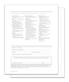 EXTERIOR BUYERS GUIDE - BACKER PRINTING ONLY SPANISH