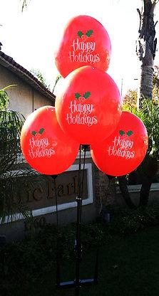 Holiday Reusable Balloon Cluster Kit