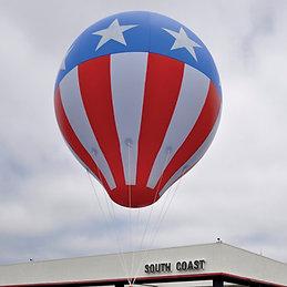 Giant 8' Hot Air Balloons Stars & Stripes