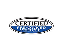 BLUE OVAL, CERTIFIED PRE OWNED VEHICLE