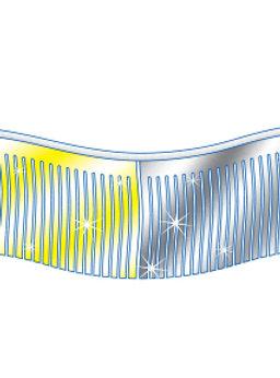 60 Ft. Metallic Fringe Pennant Multi Colored Auto Dealer Supplies Dealership