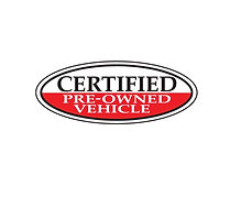 RED OVAL, CERTIFIED PRE OWNED VEHICLE