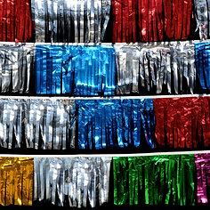 60ft. Metallic Starburst Pennants