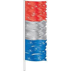 ANTENNA FLAG - METALLIC FRINGE - QTY. 12