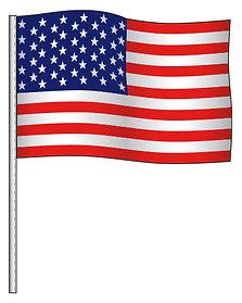 ANTENNA FLAG SUPREME CLOTH AMERICAN FLAG - QTY. 12