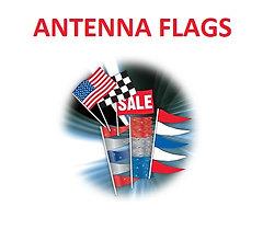 ANTENNA FLAG - SUPREME CLOTH - QTY. 12