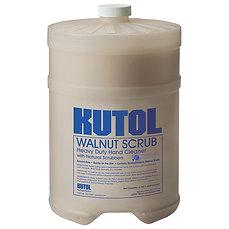 BULK - WALNUT SCRUB W/NATURAL SCRUBBERS - 1 GALLON