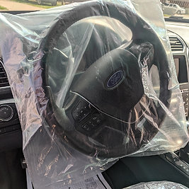 FULL COVERAGE FRONT STEERING WHEEL COVERS