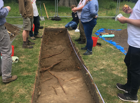 The Canons Archaeological Dig