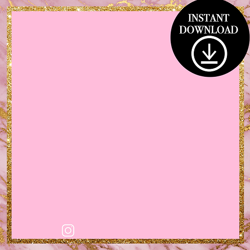 Premade Template(pink)-Instant Download
