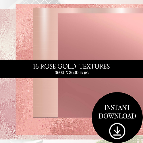 Rose Gold textures