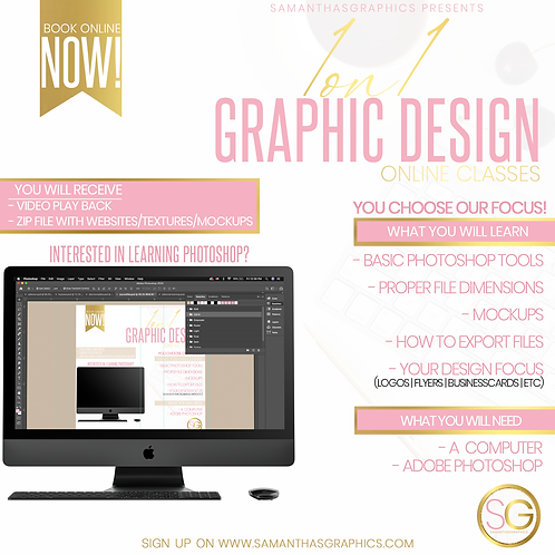 1on1 Graphic Class(Online)