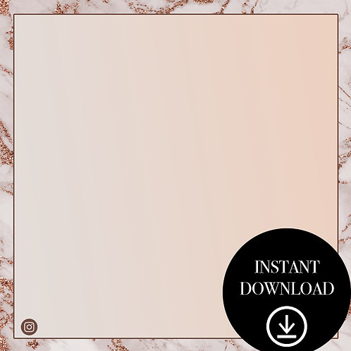 Premade Template(marble)-Instant Download