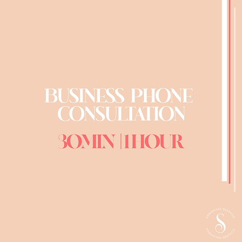 Business Phone Consultation