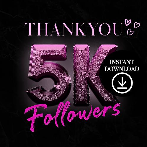 Pink 5k-(Instant Download)