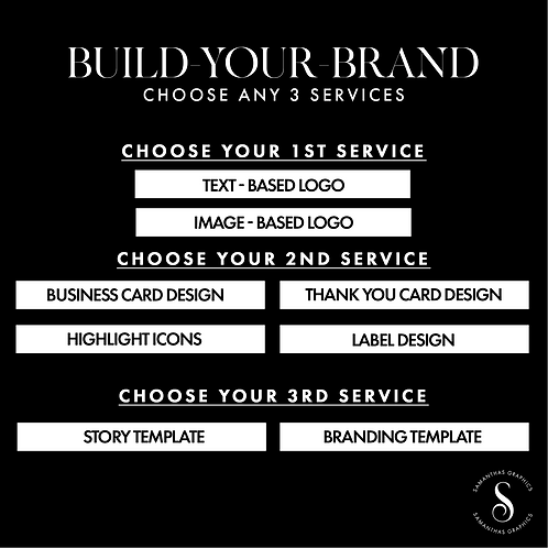 Build-Your-Brand Package