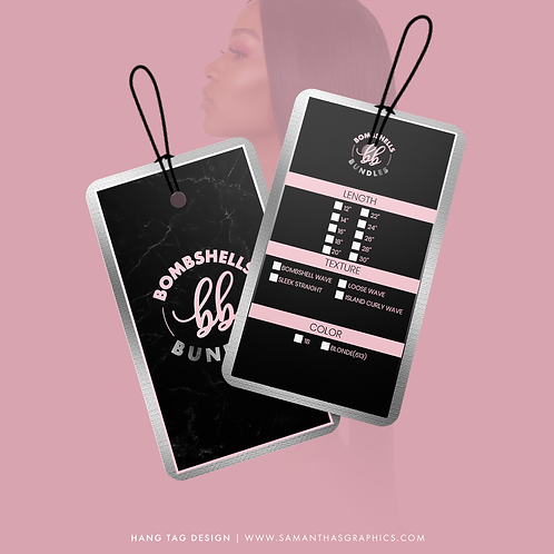 Hang Tag (Design Only)