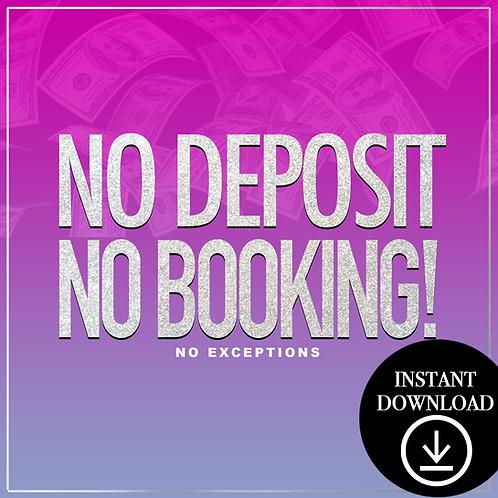 Deposit(gradient)- Instant Download