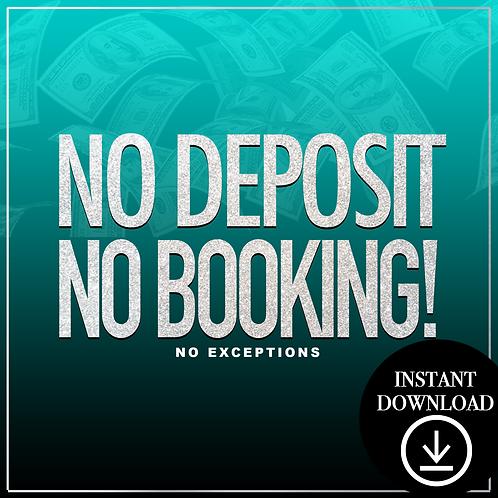 Deposit (blue) -Instant Download