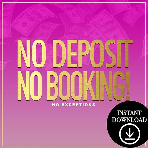 Deposit(pink)-Instant Download