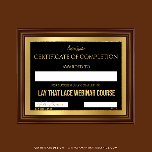 Class Certificates (Design only)
