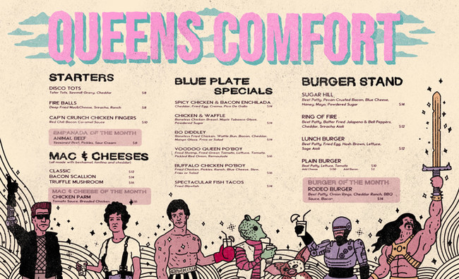 Queens Comfort