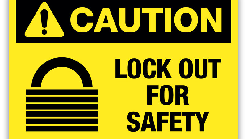 Safety - Lockout Tagout
