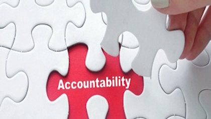 Professional Productivity - Building Accountability